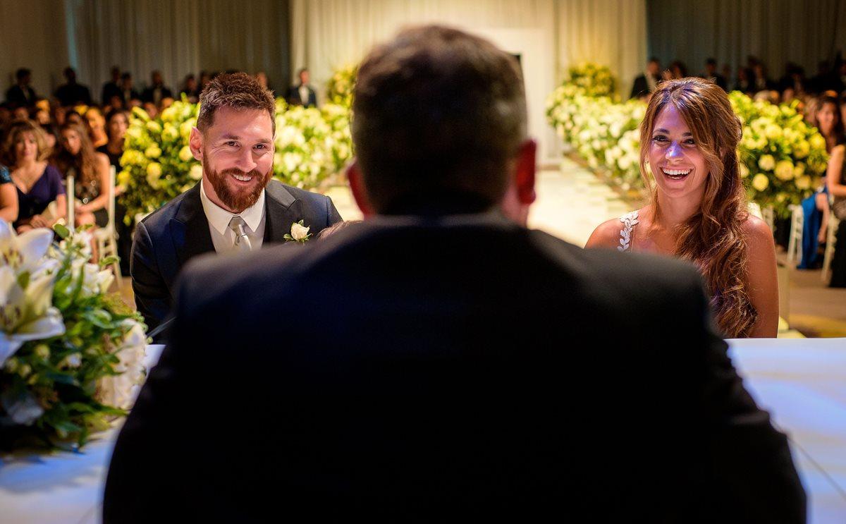 Conoce la canción que Messi le dedicó a Antonella en su boda