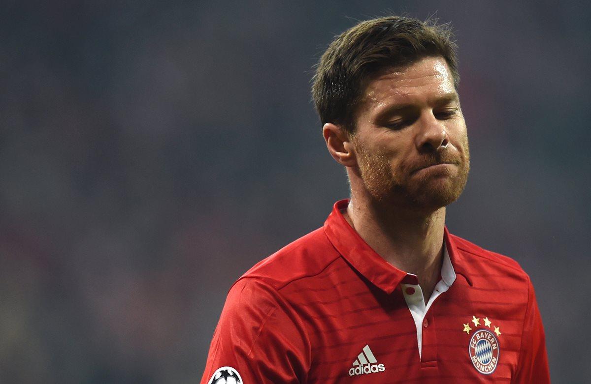 El español Xabi Alonso anuncia el fin de su carrera futbolística