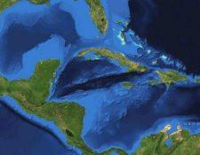 Las características del Mar Caribe hacen que sólo aquí se produzca ese zumbido. NASA.