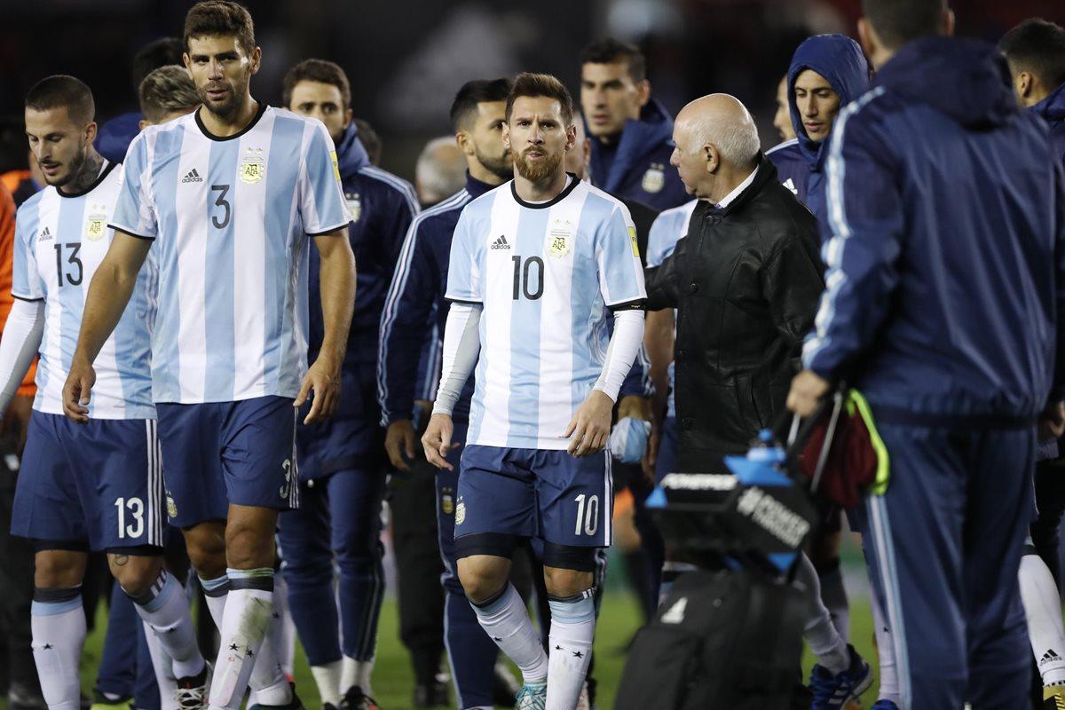 Argentina empata con Venezuela y continúa en su calvario