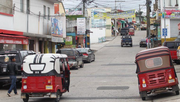 Los dueños de mototaxis son amenazados con el pago de extorsión. (Foto Prensa Libre: Hemeroteca PL)