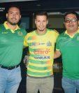 El mediocampista guatemalteco Stefano Cincotta Giordano espera aportar todo su talento para la causa del campeón Guastatoya (Foto Prensa Libre: Edwin Fajardo)