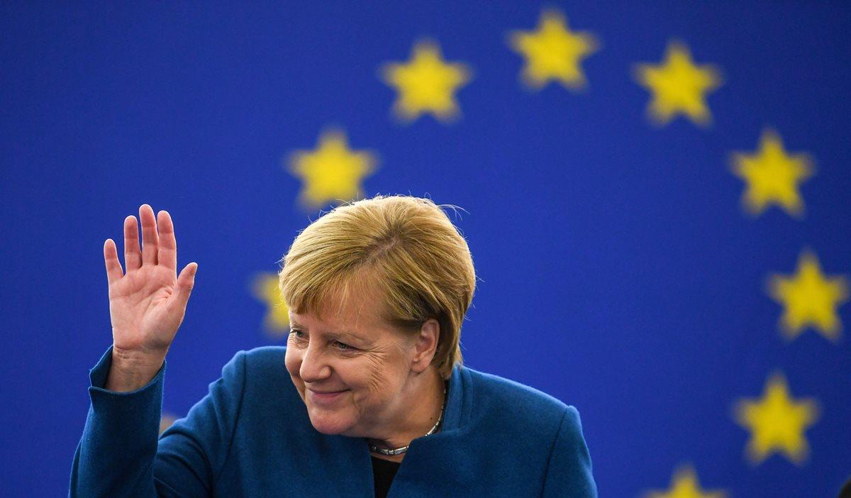 Merkel envió a su embajadora la Cumbre Iberoamericana: un oso de Berlín