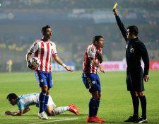 El árbitro brasileño, Sandro Ricci, fue uno de los que más polémica causo en la Copa América. (Foto Prensa Libre: AP)