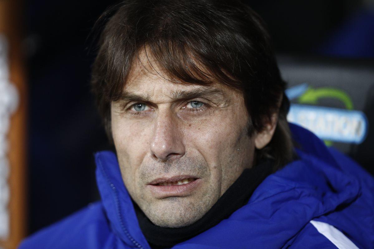 Conte tiene una relación tensa con Mourinho desde hace meses. (Foto Prensa Libre: AFP)