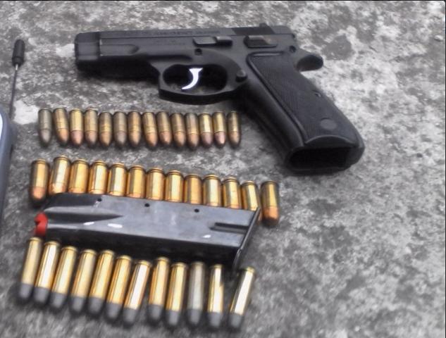 Prolifera trasiego de pistolas 9 milímetros
