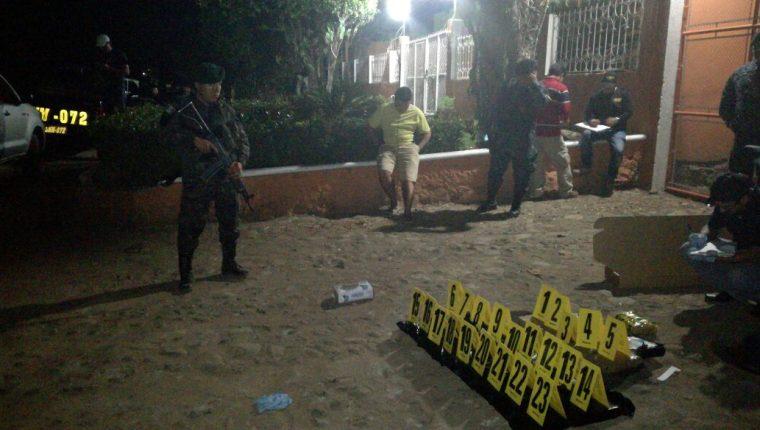 Droga decomisada en la ruta hacia Malacatán. (Foto Prensa Libre: Cortesía).