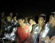 Los niños y su entrenador se internaron en la cueva Tham Luang, en el norte de Tailandia, el pasado 23 de junio y se quedaron atrapados. (Getty Images)