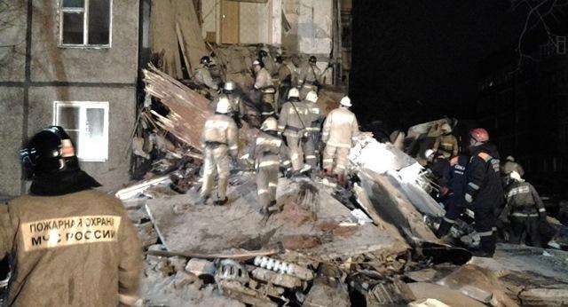 Siete muertos por explosión de gas en edificio residencial en Rusia. (Foto Prensa Libre: EFE)