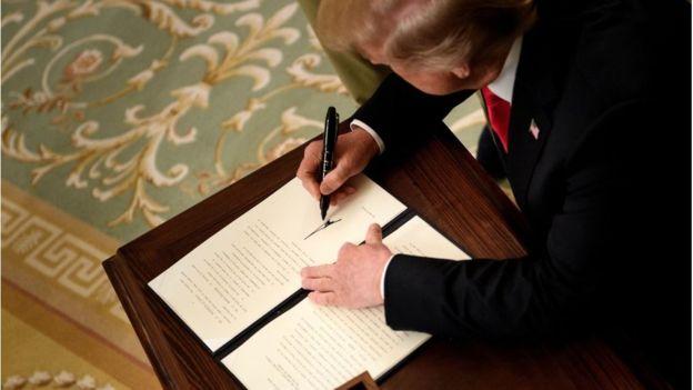 Una orden ejecutiva presidencial puede ordenar que oficinas federales interpreten la ciudadanía de una manera determinada. GETTY IMAGES