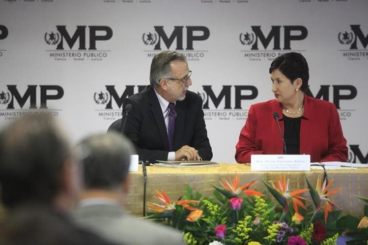 Thelma Aldana dejó el cargo de fiscal general en mayo de 2018, su sucesora es María Consuelo Porras. (Foto Prensa Libre: HemerotecaPL)