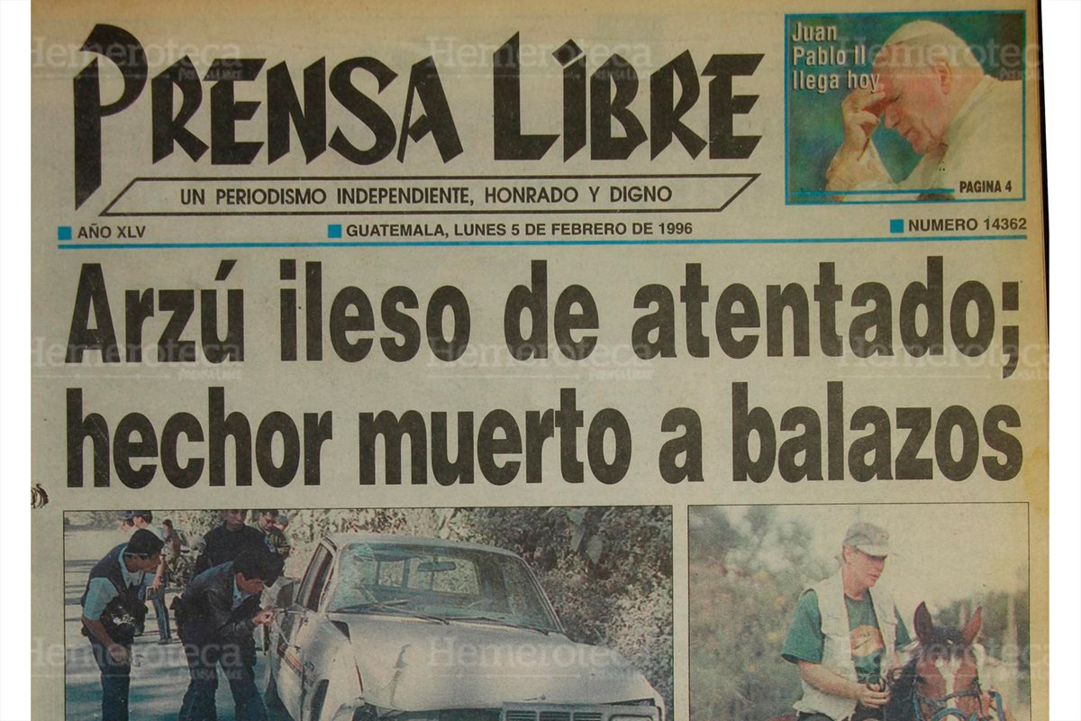 1996: Seguridad presidencial mató a Pedro Sas Rompich