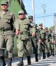 El Ejército desmovilizará a tres mil elementos que sirvieron en las fuerzas de seguridad. (Foto Prensa Libre: Hemeroteca PL)