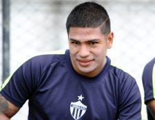Mauro Portillo espera jugar y anotar un gol contra su exequipo Municipal en la final de ida que se disputará este jueves en el estadio Pensativo. (Foto Prensa Libre: Francisco Sánchez).