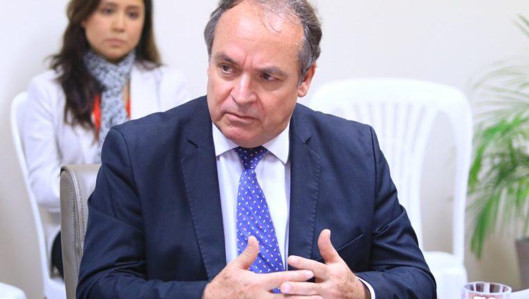 Américo Incalcaterra fue subcomisionado de la Cicig entre 2008 y 2009. (Foto Prensa Libre: ONU)