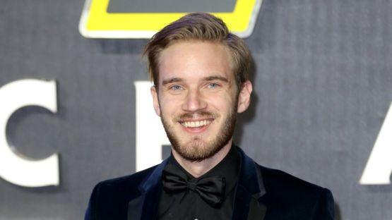 """El sueco PewDiePie, el """"vlogger"""" de más éxito en YouTube, recibió críticas por utilizar insultos y referencias antisemitas en algunos de sus videos. GETTY IMAGES"""