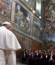 El papa Francisco durante una audiencia reciente en el Vaticano. (Foto Prensa Libre: AFP).