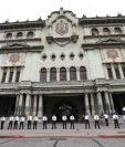El Palacio Nacional es uno de los objetivos de varios políticos, quienes lo intentan varias veces. (Foto Prensa LIbre: Hemeroteca PL)