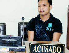 Agustín López López fue condenado a 15 años de prisión por la muerte de un hombre en Uspantán, Quiché. (Foto Prensa Libre: Óscar Figueroa)