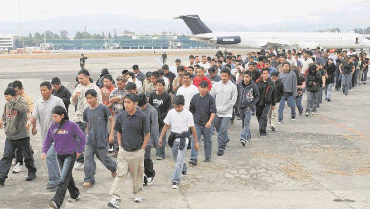 EE. UU., ha emitido 428 mil 716 órdenes de expulsión de guatemaltecos. (Foto Prensa Libre: Hemeroteca PL)
