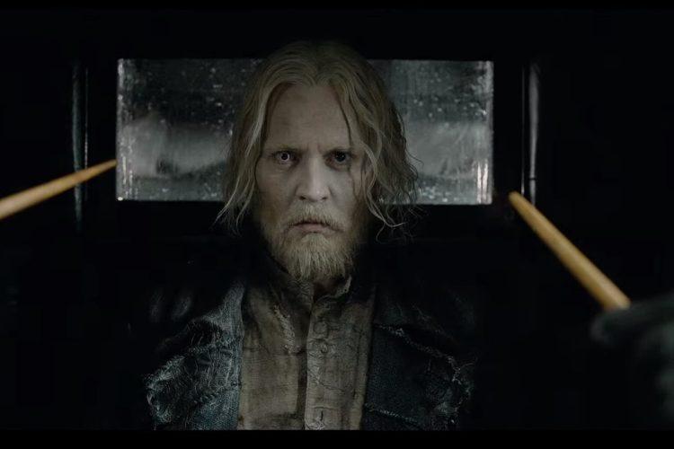 Así se ve Johnny Depp como Gellert Grindelwald