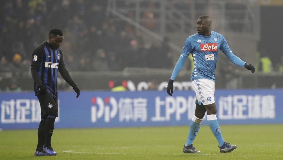 Inter de Milan jugará dos partidos a puerta cerrada por racismo