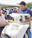 La entrega de fertilizantes avanza, explicó ayer el ministro de Agricultura.