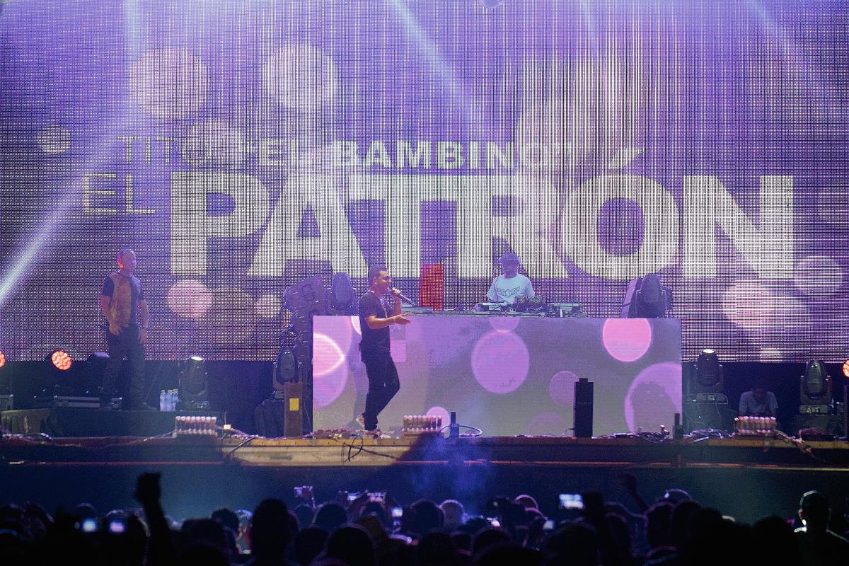 Tito el Bambino fue el plato fuerte del Gallo Evolution 2016. (Foto Prensa Libre: Enrique Paredes).