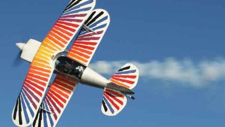 Las aeronaves harán acrobacias como parte del espectáculo. (Foto Prensa Libre: Cortesía Fly In Guatemala).