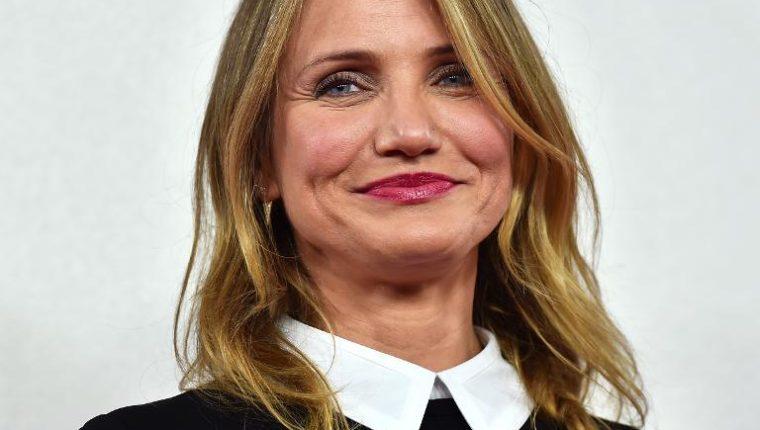 """La actriz Cameron Diaz se ha retirado del cine, según una fuente cercana. Su última película fue hace cuatro años en """"Annie"""". (Foto Prensa Libre: AFP)"""