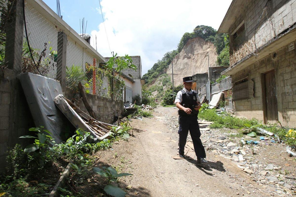 Víctimas de El Cambray serán desalojados de albergue