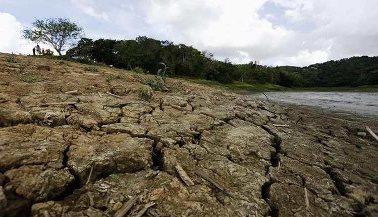 La producción agrícola fue afectada en la región. (Foto Prensa Libre: Hemeroteca PL)
