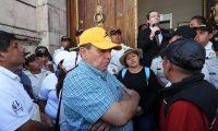 Joviel Acevedo en el Congreso el pasado 3 de mayo. (Foto Prensa Libre: Hemeroteca PL).