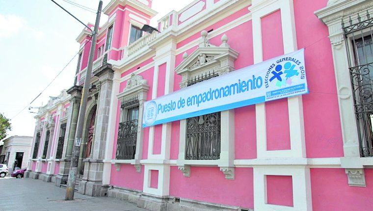 El próximo viernes arranca de manera oficial el plan de empadronamiento en la capital y el lunes en el interior del país. (Foto Prensa Libre: Hemeroteca PL)