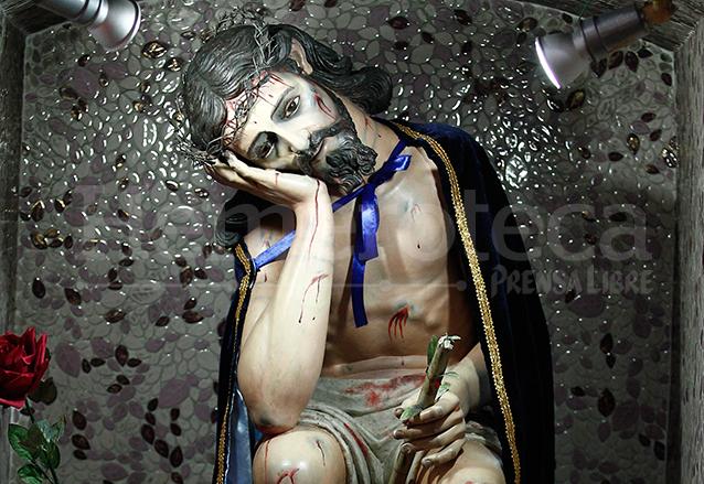 Imagen de Jesús del Pensamiento que se venera en la Iglesia de Santa Clara de la capital. (Foto: Hemeroteca PL)