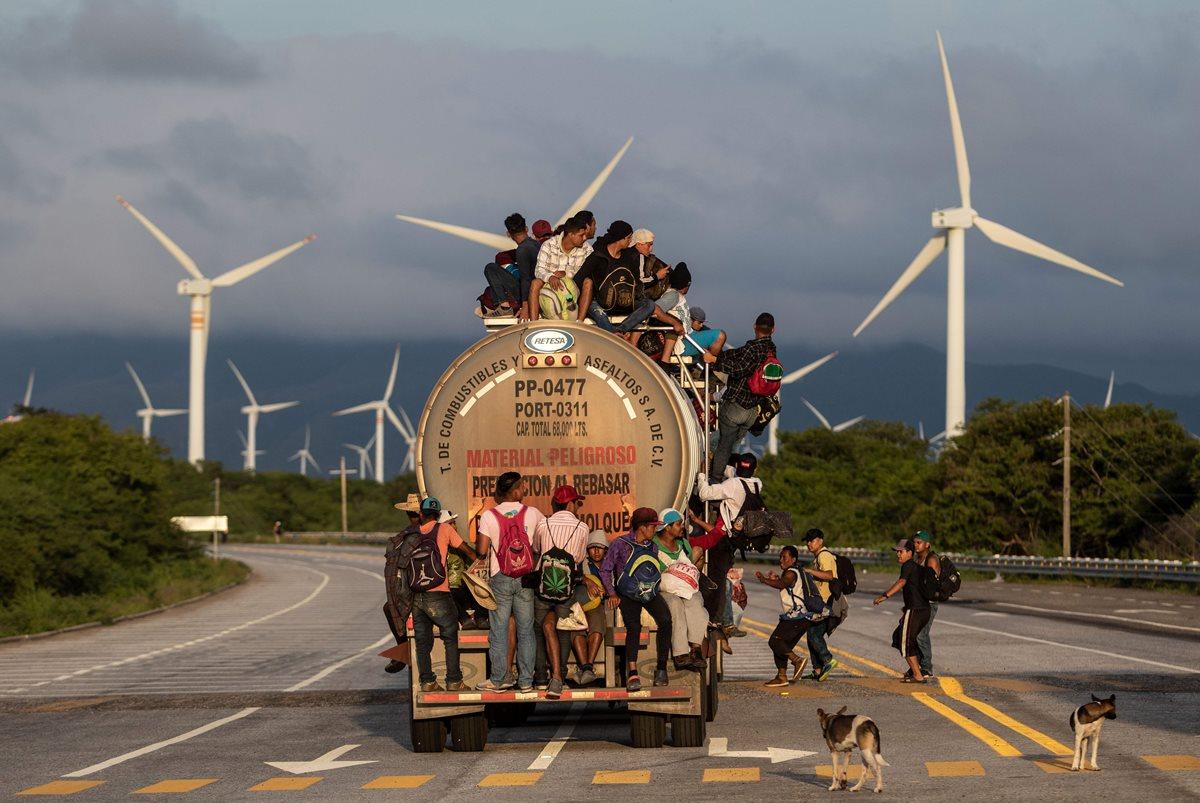 Así migran los centroamericanos
