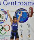 Margoth Reynoso sumó tres valiosas preseas de oro para Guatemala. (Foto Prensa Libre: Carlos Vicente)