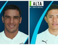 Comunicaciones anunció en sus redes sociales la llegada de Michael Umaña y Carlos Mejía para el Apertura 2018. (Foto Prensa Libre: Twitter Cremas Oficial)