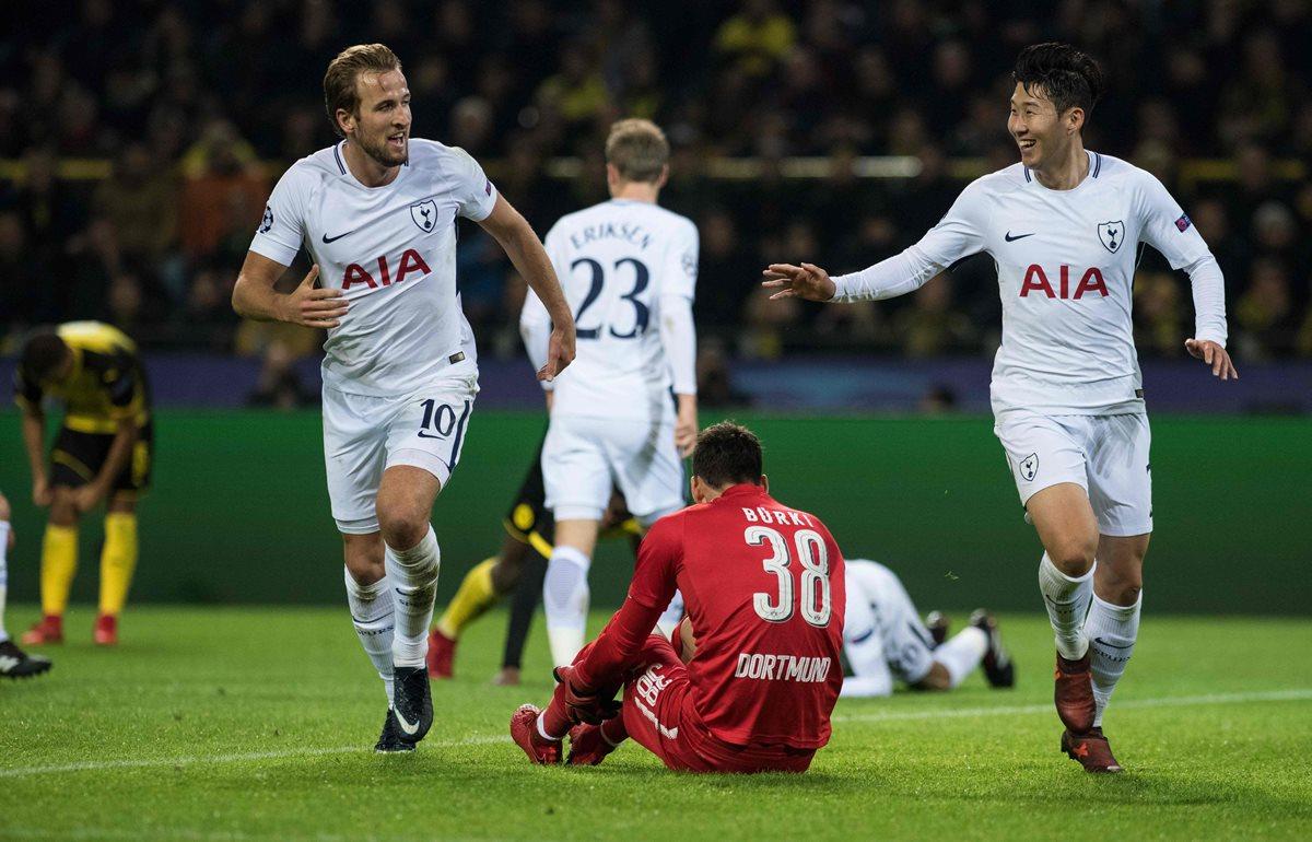 El Dortmund se despide de la Champions League al caer frente al Tottenham