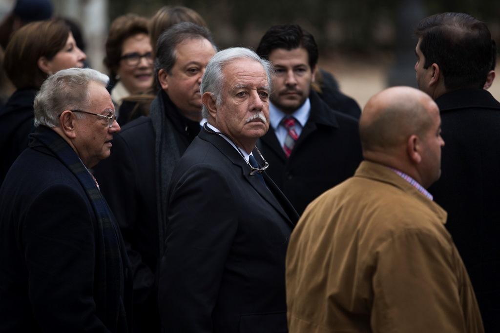 El exbinomio presidencial declaró en defensa de Carlos Vielmann en la Audiencia Nacional de España. (Foto Prensa Libre: AP)