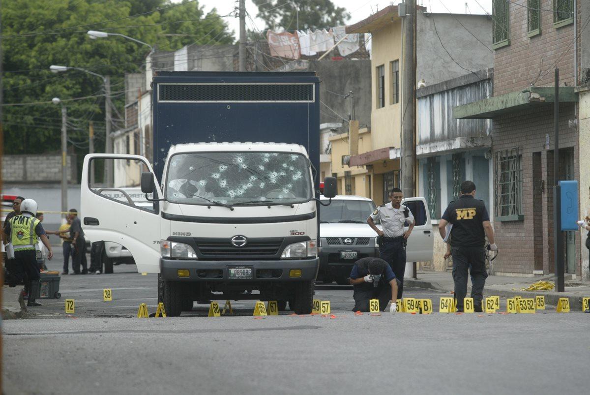 Acusan a dos pandilleros por atentados contra SP y PNC