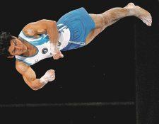 El gimnasta Jorge Vega buscará el fin de semana subir al podio del Mundial. (Foto Prensa Libre: Hemeroteca PL)