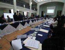 Postuladora para Salas de Apelaciones crean nómina de candidatos. (Foto Prensa Libre: Paulo Raquec)