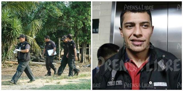Ludwin Alberto Celada Galdámez, asesinado el 5 de agosto de 2017 en Pavón, fue sentenciado el 21 de febrero de 2014 por la masacre de 27 campesinos en Petén. (Foto Prensa Libre: Hemeroteca PL)