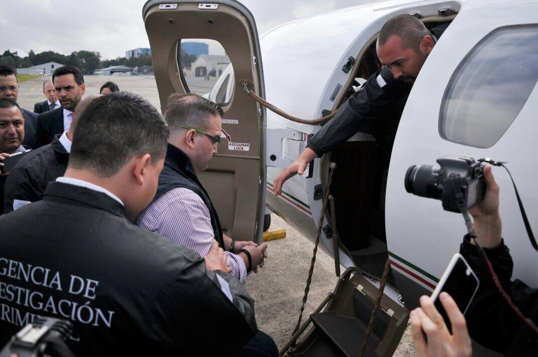 Javier Duarte fue extraditado a México