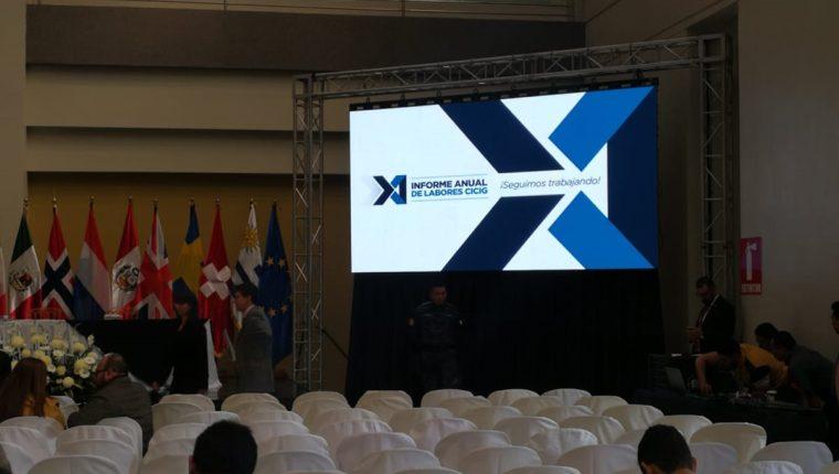 La Cicig hará público este viernes su 11 informe de labores. (Foto Prensa Libre: Kenneth Monzón)