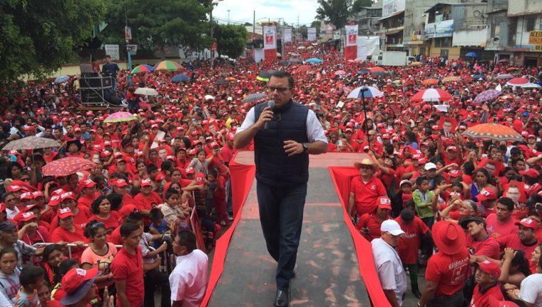 Manuel Baldizón gastó más de Q60 millones en la última contienda electoral. (Foto Prensa Libre: Hemeroteca PL)
