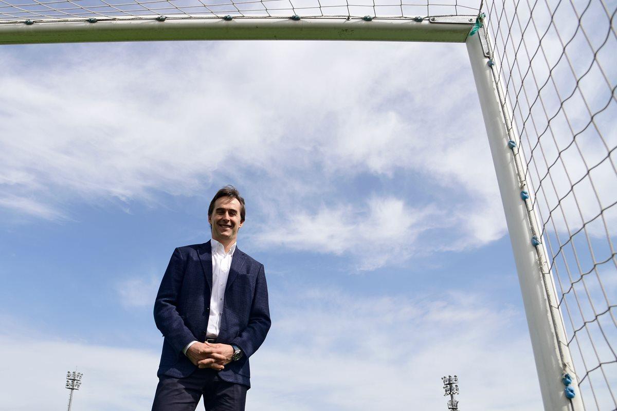 El técnico español Julen Lopetegui es contratado por el Real Madrid. (Foto Prensa Libre: EFE)