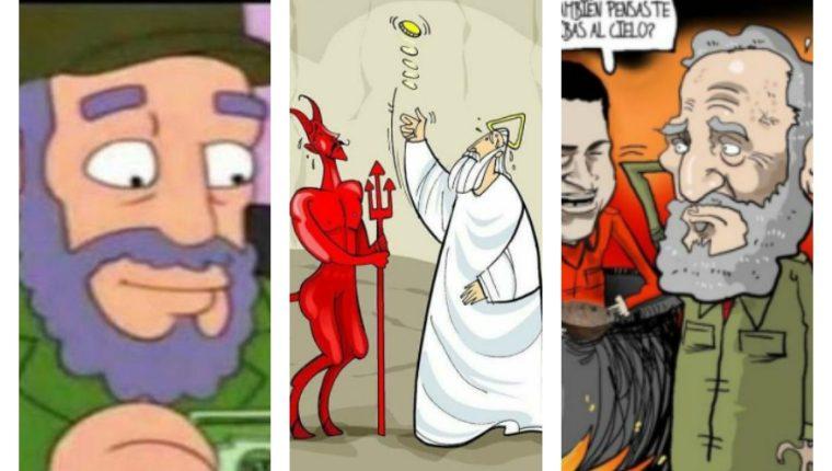 Usuarios en redes sociales publican memes de la muerte de Fidel Castro.