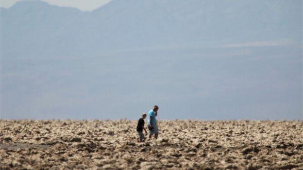 En el Valle de la Muerte se registró una temperatura de 54 °C el 20 de junio de 2013. (Getty Images)